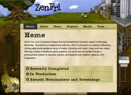 ZenFri Inc: Summer-Day Layout
